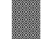 Metro 1026 Black 7.83 ft. x 10.25 ft. Contemporary Area Rug
