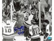 Autograph Warehouse 60711 Bobby Nystrom Autographed 8 x 10 Photo New York Islanders Pictured Celebrating The 1980 Stanley Cup Winning Goal 9SIA00Y1N80719