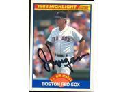 Autograph Warehouse 37486 Joe Morgan Autographed Baseball Card Boston Red Sox 1989 Score Highlight No. 660 9SIV06W2J31008
