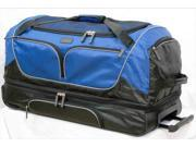 Overland Travelware GB102-30 30 in. Double Decker Duffle Wheeler Bag