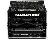 Marathon 8U Slant Mixer Rack 6U Vertical - MA-M806E