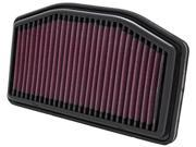 K&N HIGH FLOW PERFORMANCE AIR FILTER YA-1009 09-11 YAMAHA YZF-R1 9SIA6TC28U6796