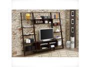 4D Concepts 89835 Arlington Wall Bookcase - Dark Cappuccino