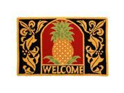 Homefires PY-SSF001 Welcome Pineapple Rug