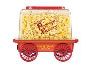 Brentwood PC-481 Vintage Wagon Popcorn Maker - Red