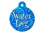 Dog Tag Art DTA-449S Water Dog Tag - Small