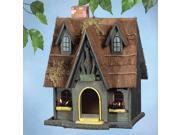 Zingz & Thingz Fairytale Cottage Birdhouse - 57070134 9SIV01U72N5882