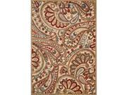Nourison 13237 Graphic Illusions Area Rug Collection Lt Multi 3 ft 6 in. x 5 ft 6 in. Rectangle