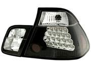 IPCW 99-00 BMW E46/3 Series Tail Lamps LED 4 Door Bermuda Black LEDT-205B2 4 ps 9SIV06W6783769