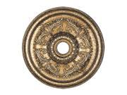 Livex 8210 65 Ceiling Medallion Vintage Gold Leaf