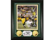 Highland Mint PHOTO3634K Super Bowl XLV MVP 24KT Gold Coin Photo Mint 9SIA00Y1YS0653