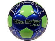 Baden S140G-105A-F Nite Brite Size 4 Glow-in-the-Dark Soccer Ball
