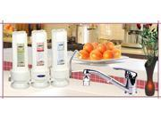 Crystal Quest CQE-CT-00133 Countertop Replaceable Triple Fluoride Water Filter System 9SIA62V45U5791