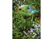 Evergreen Enterprises EG2GB312 Sculpted Butterfly Birdbath with Stand 9SIA00Y2349952