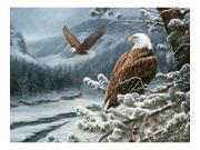 Outset Media Games OM52073 Winter Eagles 500 piece Puzzle
