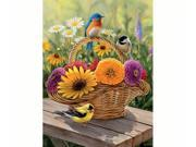 Outset Media Games OM54339 Summer Bouquet 275 piece Puzzle Easy Handling