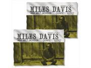 Concord Music Miles Davis (Front Back Print) Sublimation Pillow Case 9SIV06W2H52853