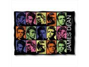 James Dean Color Block Poly 20X28 Pillow Case White One Size 9SIV06W2H52475
