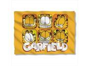 Garfield Faces Poly 20X28 Pillow Case White One Size 9SIV06W2H52879