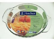 "Anchor Hocking Pie Plate - 9½"""" - Glass - Deep"" 9SIA00Y2372618"