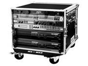 MARATHON PROFESSIONAL MA-8UADW 18 in. Amplifier Deluxe Case Body Depth with Wheels
