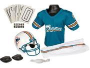 Franklin IF-FRA-15701F23-Y2 Miami Dolphins Deluxe Youth Uniform Set - Medium