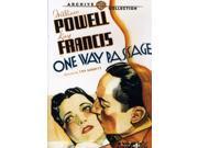 Warner Bros 883316289860 One Way Passage, DVD
