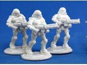 Reaper Miniatures 80015 Bones - Chrono Nova Corp Rifleman 3 Miniature 9SIV06W2HT3211