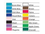 PACON CORPORATION PAC37206 BORDETTE 2 1/4 X 50 INCH ROYAL BLUE