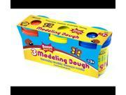 Bazic Products 3312-24 BAZIC 5 Oz. Multi Color Modeling Dough - 3-Pack Case of 24