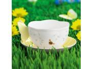 Lenox 806725 Butterfly Meadow Cup and Saucer Set - Yellow 9SIV06W6AC6448