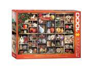Euro Graphics 6000 0759 Christmas Ornaments Puzzle