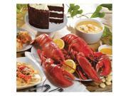 Lobster Gram PLZGR2J Lobsterpalooza! Gram Dinner for 2 - 2 lb. Lobsters