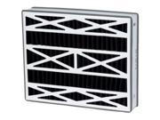 Trion DPFR16X25X5OB Air Bear Aftermarket Carbon Odor Filter,  Pack Of 2