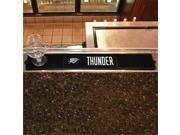 Fan Mats FAN-14055 Oklahoma City Thunder NBA Drink Mat - 3.25in x 24in 9SIA00Y4357645