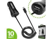 Cellet PMICUM21BK High Powered 10 Watt Micro Usb Car Charger - Black 9SIA00Y43C2683