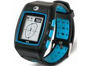 Golf Buddy WT5 Golf GPS Watch, Black/Blue
