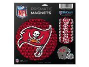 "Tampa Bay Buccaneers Magnets - 11""x11 Prismatic Sheet"