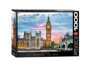 EuroGraphics 6000 0764 City Collection London Puzzle 1000 Pieces
