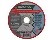 Metabo 469-US616285000 M-Calibur Ca46U Grinding Wheel For Stainless Steel, 4.5 x 0.06 x 0.88, Type 1