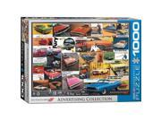 EuroGraphics 6000-0760 Vintage Car Ads, Dodge Puzzle - 1000 Pieces