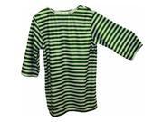 Alexander Costume 22 227 GR Striped Shirt Green Medium