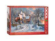EuroGraphics 6000 0790 Christmas Cottage Puzzle 1000 Pieces