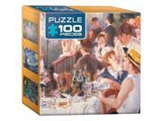 Euro Graphics 8104 2031 The Luncheon By Pierre auguste Renoir Mini Puzzle