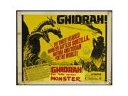 Hot Stuff Enterprise 8106-12x18-LM Ghidrah The Three Headed Monster Poster 9SIA00Y44W4166