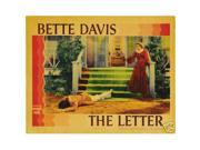 Hot Stuff Enterprise 8309-12x18-LM The Letter Bette Davis Poster 9SIA00Y44W4136