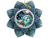 G.Debrekht 6103401 General Holiday Statue of Liberty Ornament 4.5 in.