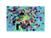 School Specialty 6-12 mm. Sequins Assortment, Multi-Color, 11 Oz. Metallic Cup 9SIA00Y45B8323