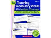 Scholastic Teaching Vocabulary With Multiple Meanings