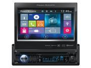 Power Acoustik PD 724HB Single-DIN In-Dash Motorized LCD Touchscreen DVD Receiver with Bluetooth